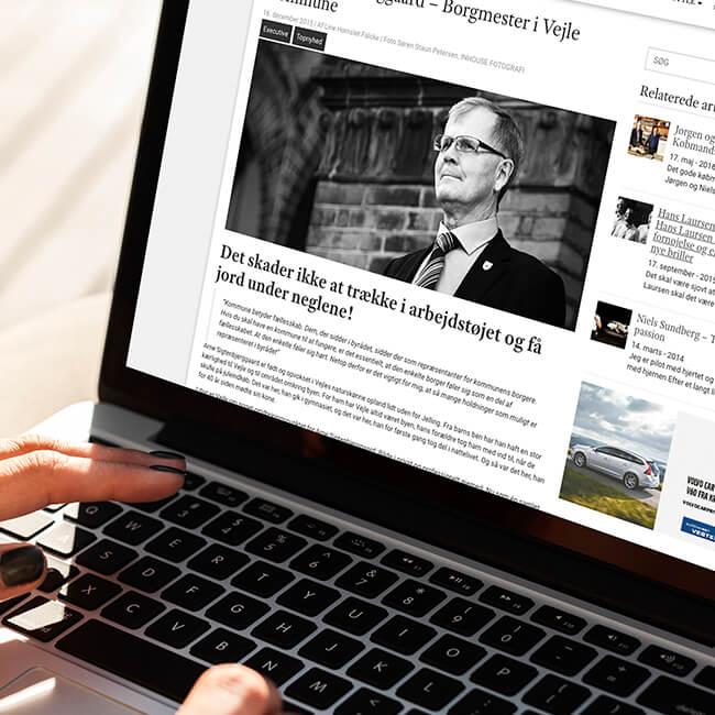Artikel til Delight Magazine - interview med Arne Sigtenbjerggaard