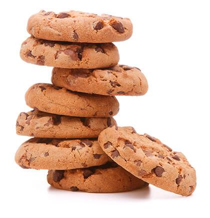 Jeg deler kun sprøde cookies ud! Bare så du kan huske mig ...